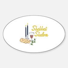 Shabbat Shalom Decal