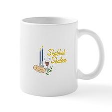 Shabbat Shalom Mugs