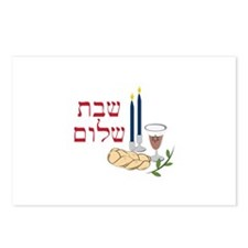 Shabbat Postcards (Package of 8)