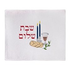 Shabbat Throw Blanket