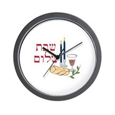 Shabbat Wall Clock