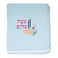 Shabbat baby blanket