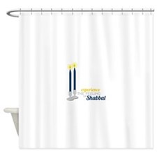Experience The Feeling Of Shabbat Shower Curtain