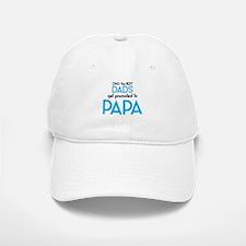 BEST DADS GET PROMOTED TO PAPA Baseball Baseball Baseball Cap