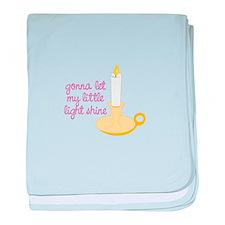 Gona Let My Little Light Shine baby blanket