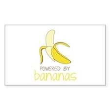 Powered By Bananas Decal