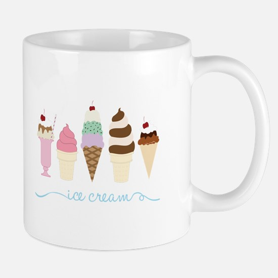 Ice Cream Mugs