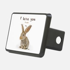I Love You from Ear to Ear Hitch Cover