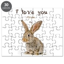 I Love You from Ear to Ear Puzzle