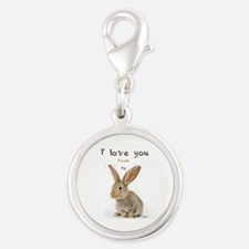 I Love You from Ear to Ear Charms