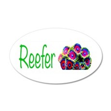 Reefer Wall Decal