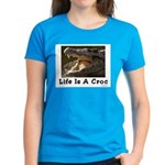 Life Is A Croc Women's Dark T-Shirt