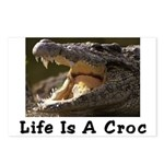 Life Is A Croc Postcards (Package of 8)