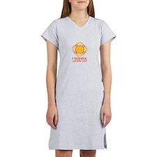 I Require Sun Shine Daily Women's Nightshirt