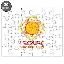 I Require Sun Shine Daily Puzzle