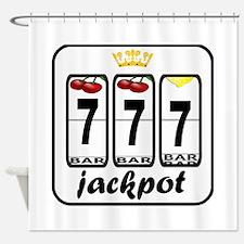 Lucky 7 Jackpot Shower Curtain