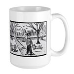 Copy Editor Dog Training Large Mug