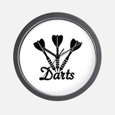 Darts Wall Clock