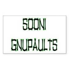 SOONI GNUPAULTS Sticker (Rect.)