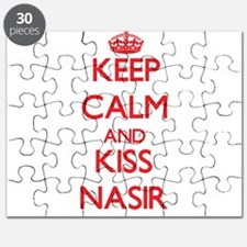 Keep Calm and Kiss Nasir Puzzle