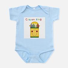 Unique Crayons Infant Bodysuit