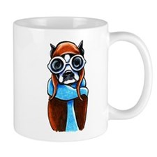 Boston Terrier CoPilot Mugs