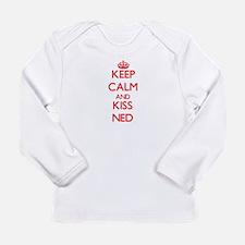 Keep Calm and Kiss Ned Long Sleeve T-Shirt