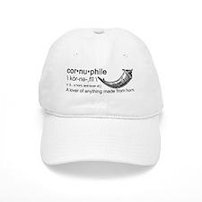 Cornuphile Baseball Baseball Cap