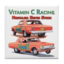 Vitamin C Racing Tile Coaster
