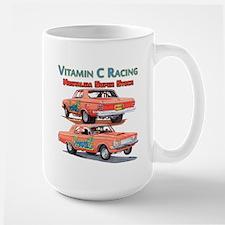 Vitamin C Racing Mugs