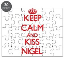 Keep Calm and Kiss Nigel Puzzle