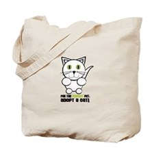 For A Perfect Pet Adopt A Cat! Tote Bag