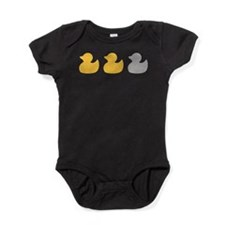 Transparent Duck Duck Baby Bodysuit