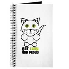 Cat Lady And Proud Journal