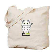 Cat Lady And Proud Tote Bag