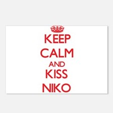 Keep Calm and Kiss Niko Postcards (Package of 8)