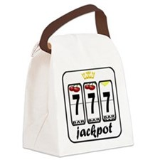 Lucky 7 jackpot Canvas Lunch Bag