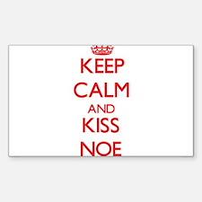 Keep Calm and Kiss Noe Decal