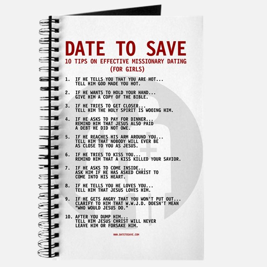 Date to Save Dating Journal