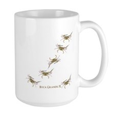 Crabby In Boca Mugs
