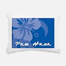 Pau Hana Rectangular Canvas Pillow