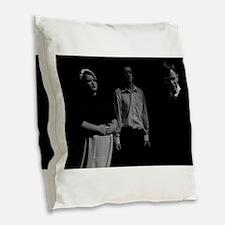 The Crucible Burlap Throw Pillow