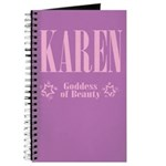 Karen Goddess of Beauty Journal 2
