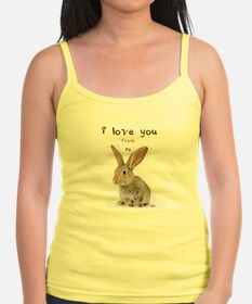 I Love You from Ear to Ear Tank Top