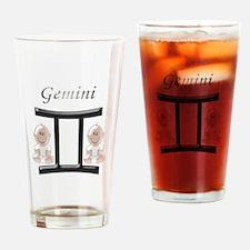 Star Sign Gemini Drinking Glass