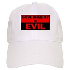 Government is Evil Baseball Cap