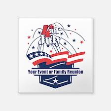 Custom 4th of July Sticker
