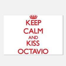 Keep Calm and Kiss Octavio Postcards (Package of 8