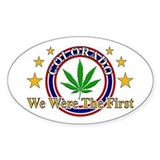 Colorado We Were The First Decal