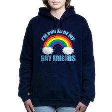 Gay Friends Women's Hooded Sweatshirt